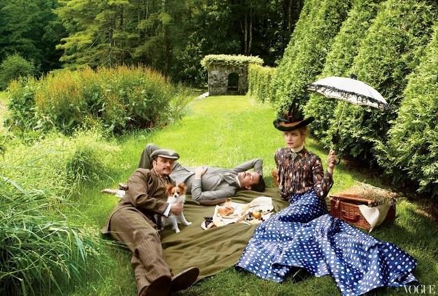 Фото, стилизованное Грейс Коддингтон с сайта lookatme.ru