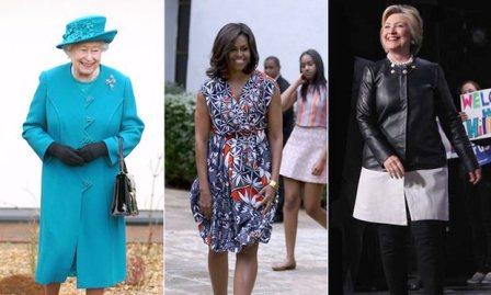 Королева Виктория, Мишель Обама и Халлири Клинтон. Коллаж: Getty/AP/Splash, theguardian.com