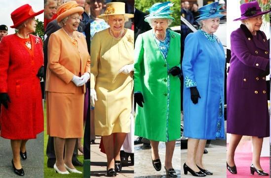 стиль одежды королевы Елизаветы 2