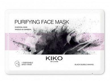 черная очищающая маска для лица